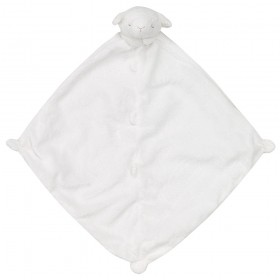 White Lamb Lovey - Angel Dear Animal Blankie