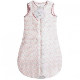 zzZipMe Sleep Sack Pastel Pink - 3-6 Months - SwaddleDesigns