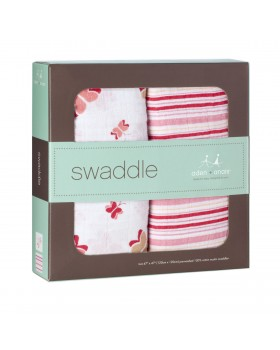 Aden + Anais Royal Swaddle - Princess Posie -2 Pack