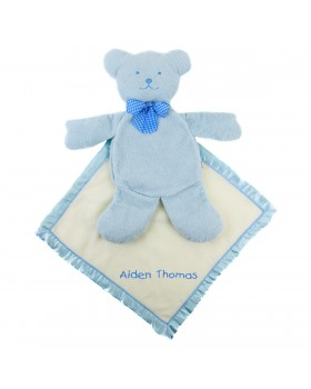 Boys' Blue Bear Security Blanket