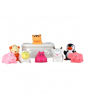 Party Squirties - Animal Baby Bath Toys - Elegant Baby