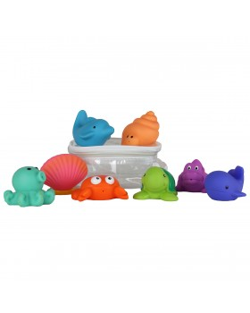 Party Squirties - Sea Baby Bath Toys - Elegant Baby