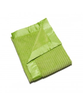 Ribbed Baby Blanket - Green - Elegant Baby