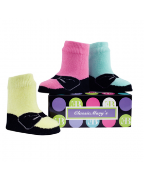 Sock Set - Classic Miss Mary Bright by Elegant Baby