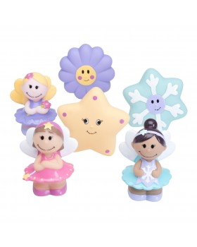 Party Squirties - Fairy Bath Toys - Elegant Baby