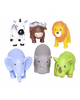 Party Squirties - Jungle Animal Bath Toys - Elegant Baby