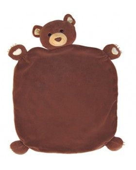 Cubby Bear Lovey, Organic - Apple Park
