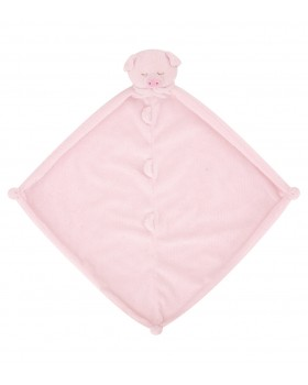 Pink Piggy Lovey - Angel Dear Animal Blankie
