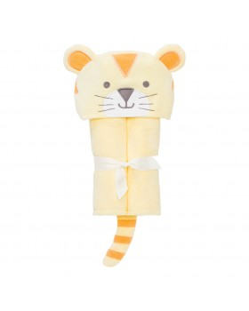 Yellow Tiger Bath Wrap / Hooded Towel - Elegant Baby