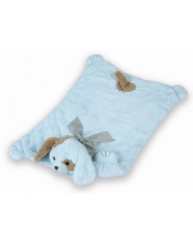 Waggles Dog Belly Blanket for Boys - Bearington