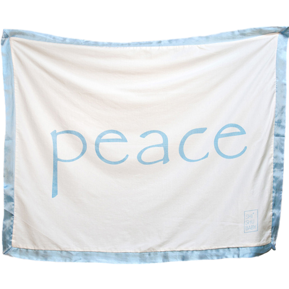 Peace Blanket Blue